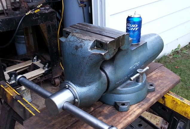 i broke my bench vise archive the home shop machinist